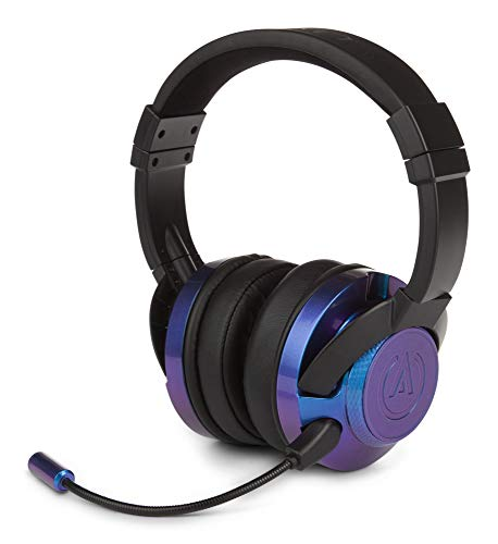 PowerA Fusion Wired Stereo Gaming Headset with Mic for PlayStation 4, Xbox One, X, Xbox One S, Xbox 360, Nintendo Switch, PC, Mac, VR, Android, and iOS - Cosmos Nebula - Xbox 360; Xbox