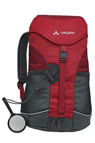 Vaude Unisex - Kinder Rucksack Puck 10, salsa/red, 10 Liter, 15002