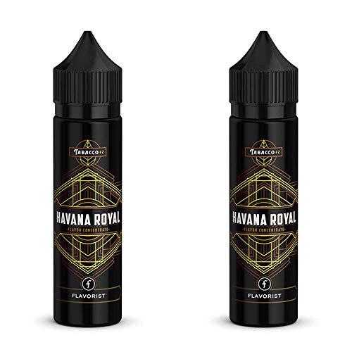 2 Flaschen Longfill Aroma - Flavorist - Havana Royal - Doppelpack nikotinfrei