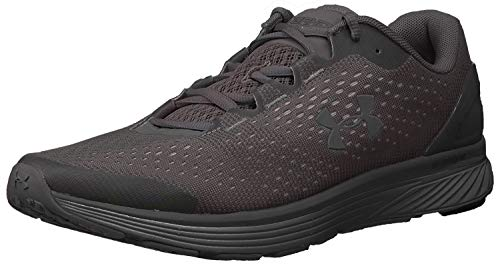 Under Armour Men's Charged Bandit 4 Running Shoe, Black (008)/Charcoal, 10.5