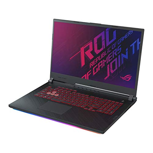 ASUS ROG 17.3' FHD Gaming Laptop Core i7-9750H 32GB RAM 1TB SSD+1TB HDD, GTX 1660 Ti 6GB, Hexa-Core up to 4.50 GHz, RGB Backlit Keyboard, RJ-45 LAN, USB-C, 1920x1080, Wi-Fi, Bluetooth, Win 10