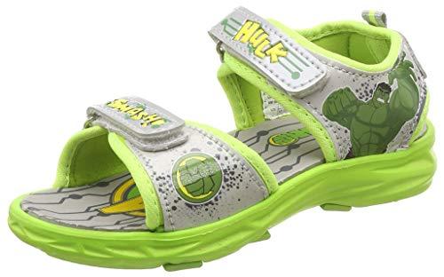 Avengers Boy's Green Sandals-11 Kids UK/India (30 EU) (MAPBSS0528)