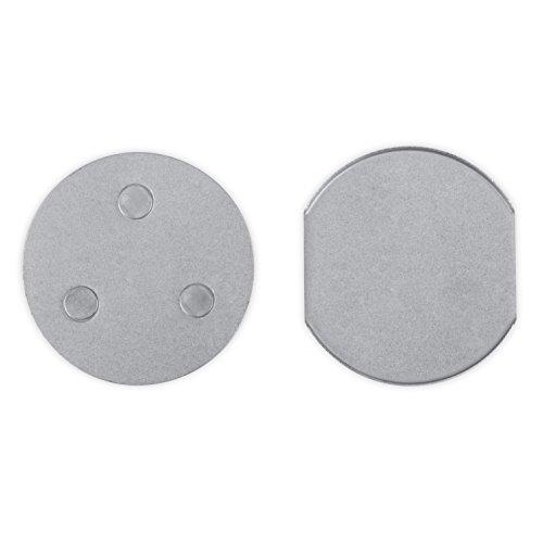Smartwares Magnetbefestigungsset für Rauchmelder, RMAG4,Silber
