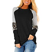 Mystry Zone Women's Color Block Casual Tunic Top (various styles/sizes)