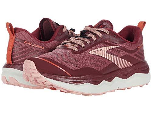 Brooks Caldera 4 - Zapatillas de correr para mujer, color negro y gris, (Zinfandel/Nocturne/Coral), 42 EU