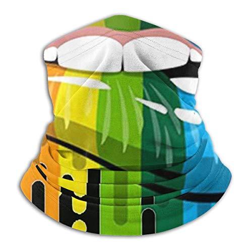 Linger In LGBT Motss Gay Pride The Gay Team Neck Gaiter Neck Warmer Décorations faciales Bandana Headwear