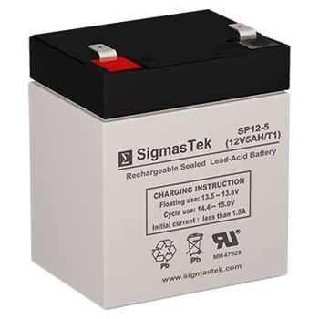 FirstPower FP1260 12V 5Ah Sealed Lead Acid Battery This is an AJC Brand Replacement