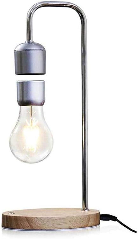 Karinao Magnetschwebebirne Pendelleuchte LED Lamp Geschenkideen Nachtlicht für Raumdekoration Heimdekoration (A)