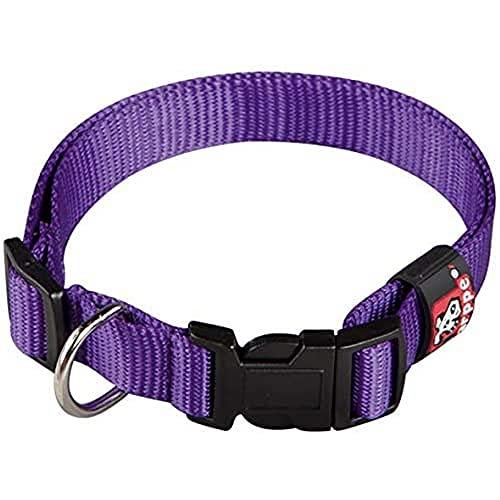 Arppe 2240013517 Collar Nylon Basic, Purpura