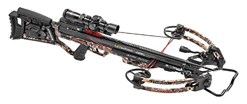 TenPoint Carbon Phantom RCX Crossbow Package with RangeMaster Pro Scope, 6 Pro Elite Carbon Arrows, 3-Arrow Instant Detach Quiver