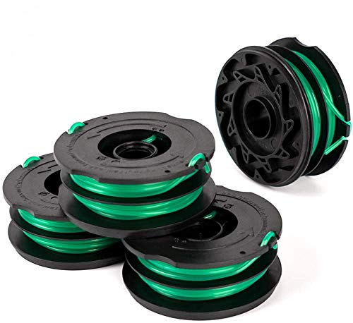 X Home 4 Pack GH2000/GH1100/GH1000 Replacement Spool, DF-080-BKP/DF-080 Trimmer Line Compatible with Black and Decker Weed Eater, Durable and Easy to Install