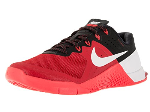 Nike Mens Metcon 2 Synthetic Trainers, Umvrsty Rd/Wht/Brght Crmsn/BLC, 10.5 D(M) US
