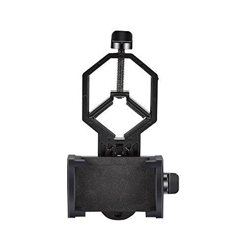 Hoyxel Universal Fernglas Handy Halter Halterung für Handys Smartphone, EG26 Smartphone-Halterung für Fernglas/Monocular/Spektiv/Teleskop/Mikroskop