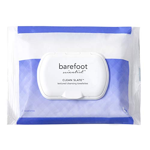 Barefoot Scientist Clean Slate Textured Cleansing Towelettes ExtraLarge ExtraStrong Foot Disinfecting Wipes