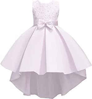AmyStylish Little/Big Girls Wedding Flower Girl Birthday Party Holiday Dress