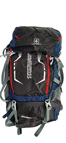 Waynorth 3211 Mochila para Senderismo, Trekking, Acampada, Viajes, Montaña, Bolsa Impermeable Aire Libre 60L - Multicolor