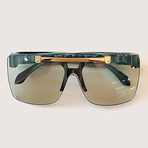 YJDZHSQ Gafas de Sol de Montura Cuadrada de Gran tamaño Mujeres 2020 Nuevas Tendencias Gafas de Sol Uv400 Gafas deSol n. ° 2