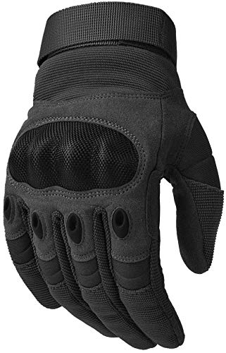 COTOP Motorrad Handschuhe, Hard Knuckle Handschuhe Motorrad Handschuhe Motorrad ATV Reiten Full Finger Handschuhe für Männer (M) - 7