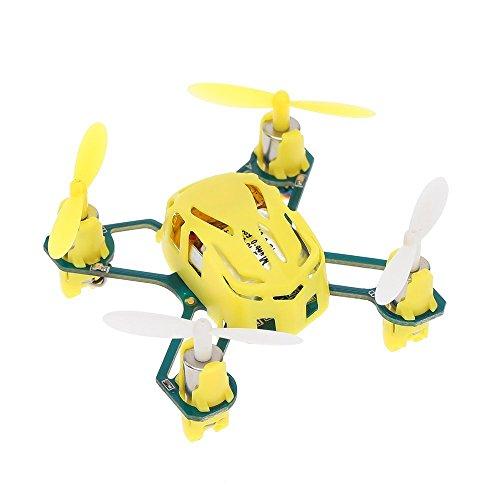 Hubsan Quadcopter Q4 Nano Mini Worlds Smallest Quad Copter - Yellow