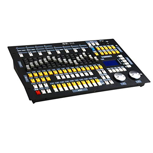 QCKDQ Controlador DMX, DMX Consola De Luz De 512 Canales, Iluminación De...