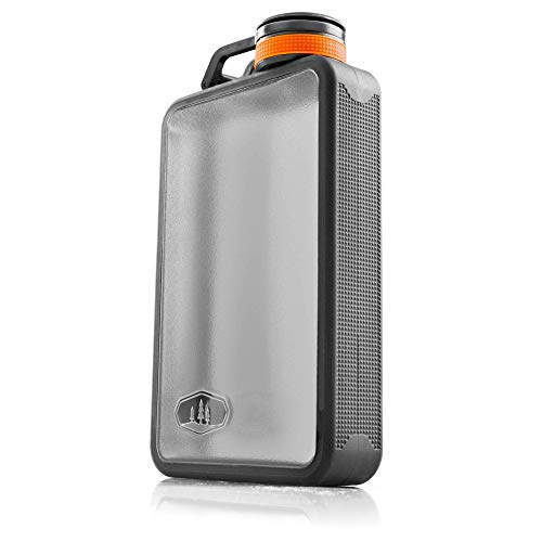 GSI Outdoors, Boulder Flask, Graphite, 10 fl. oz.