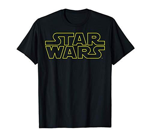 Star Wars Simple Logo Outline Maglietta