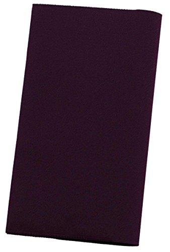 ふくさ 袱紗 慶弔両用 紫 男性 女性 結婚式 葬式 両用 日本製 西陣織 綴 シルク100% 金封ふくさ 無地