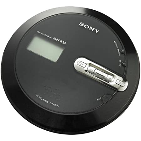 Sony DEJ010BLK CD Walkman Portable Compact Disc Player Black