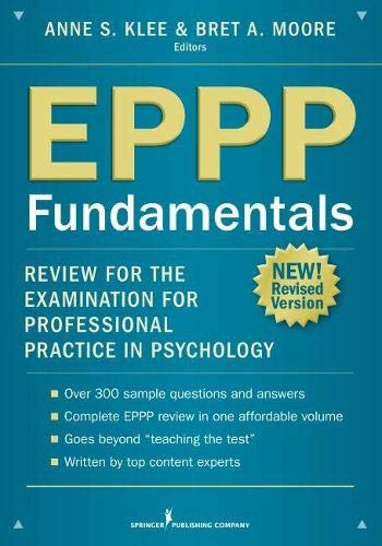 EPPP Fundamentals: Review for the Examination for Professional Practice in Psychology