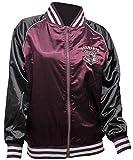 HARRY POTTER Bioworld Jacket Junior's Hogwarts Crest Varsity Bomber Jacket (Large)