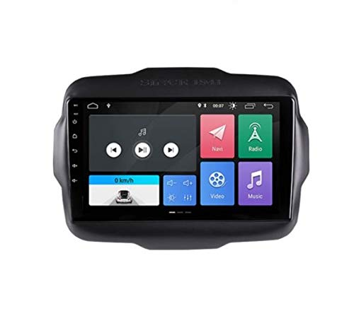 ESTOCK1 Car tablet Android 10 per Jeep Renegade 2015-2019 2G di ram 9 pollici GPS autoradio navigatore WI-FI Bluetooth MirrorLink