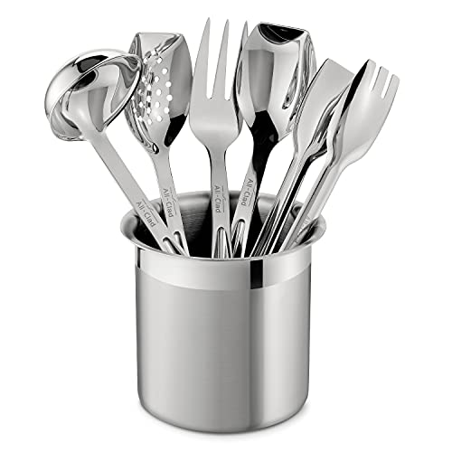 All-Clad Stainless Steel Cook & Serve Tool Set, 6-Piece