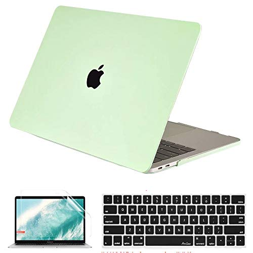 QYiD Macbook Pro 15 Retina Case A1398, Plastic Hard Shell Case Cover with Keyboard Cover & Screen Protector for Macbook Pro 15.4' with Retina Display Modle A1398 (2012-2015 Release), Honeydew Green