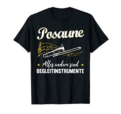 Musiker Posaune Blasorchester Musikinstrument Band Geschenk T-Shirt