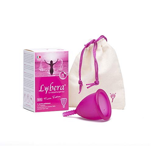 Lybera la Coppetta Mestruale MADE IN ITALY in...