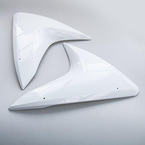 Unlackierte Seitendreiecke Links-Rechts Paar für Yamaha YZF-R125 2008-2016