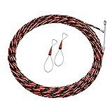 Bomoya 50M Equipo de enhebrado de Cables para Electricista, Herramienta de Ayuda para la instalación