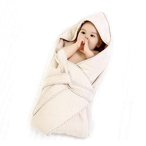 HS-01 Swaddle babyslaapzak, kinderbeddengoed babyslaapzak, jongens en meisjes 3-12 maanden Wearable dekenslaapzak instelbare 90 cm