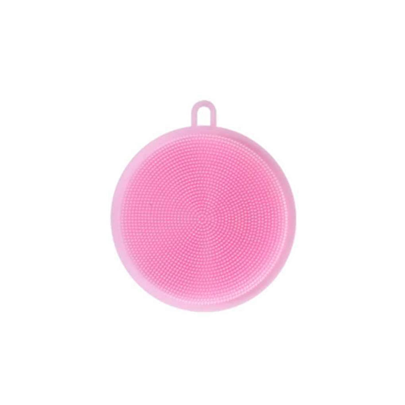 Kitchen Silicone Cleaning Dish Brush Washer Scrubber Scouring Mat Pad Liner Fruit Vegetables Food Boiler