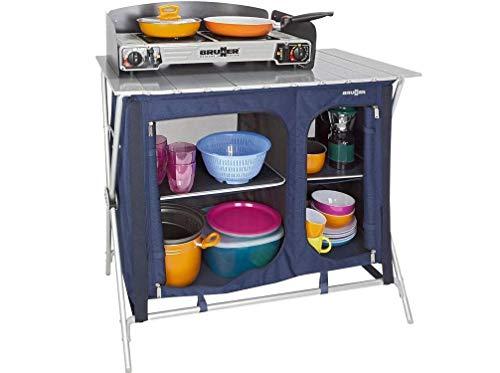 BRUNNER Küchenschrank Mercury Cross Cooker, blau