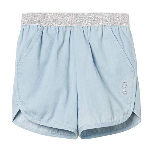 Steiff Mädchen Jeans Shorts, Blau (Forever Blue 6027), 86