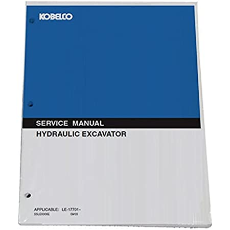 Part Number # 87634781NA KOBELCO SK170-8 Tier 3 Hydraulic Excavator Workshop Repair Service Manual