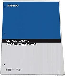 KOBELCO ED150 Blade Runner Acera SR Tier 3 Excavator Workshop Repair Service Manual - Part Number 87480999