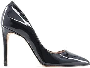 Made in Italia Mujer Delia_P Pumps Zapatos de Tacón Cuero Negro 40 EU