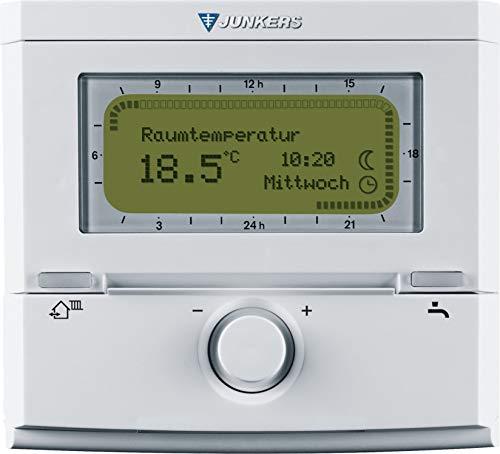 Junkers Raumtemperaturregler FR 120 NEU vereinfachte Menüführung 8737707188