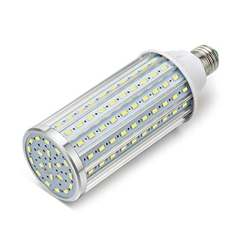 ONLT Bombillas LED, E27 45W 4450LM(Equivalente a 450W),LED Bombilla Super Brillante,para la Iluminación de Almacén, Camino, Restaurante, Hotel, Studio, Plaza(45W-Luz Fría)