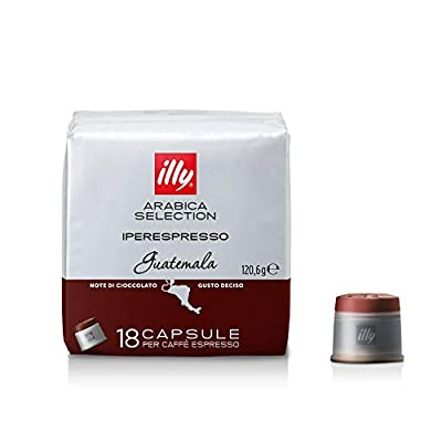 ILLY 18 Capsules of Monoarabica Guatemala Coffee