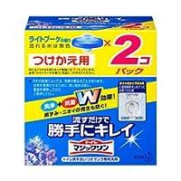 【花王】トイレマジックリン 流すだけで勝手にキレイ ライトブーケの香り <付替用・2個パック>160g ×20個セット