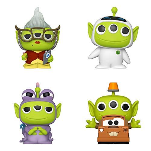 Funko Disney: POP! Pixar Alien Remix Collectors Set - Randall, Mater, Roz, Eve