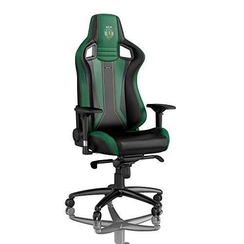 noblechairs EPIC Gaming Stuhl - Bürostuhl - Schreibtischstuhl - PU-Kunstleder - Sporting Clube de Portugal Edition